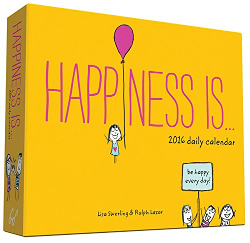 Happiness Is . . . 2016 Daily Calendar (Daily Calendar Positive compare prices)