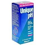Alcon Unique pH Multi-Purpose Solution for Rigid Gas Permeable Contact Lenses, 3-Ounce Bottles (Pack of 3) ~ Unique pH
