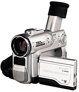 Sharp VLWD255U MiniDV Digital Camcorder with 2.5'' Viewscreen, Smart Media Slot and Built-in Digital Still Mode