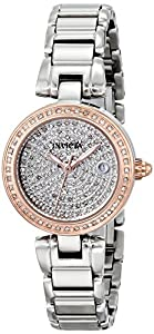 Invicta Women's 15874 Angel Analog Display Swiss Quartz Silver Watch