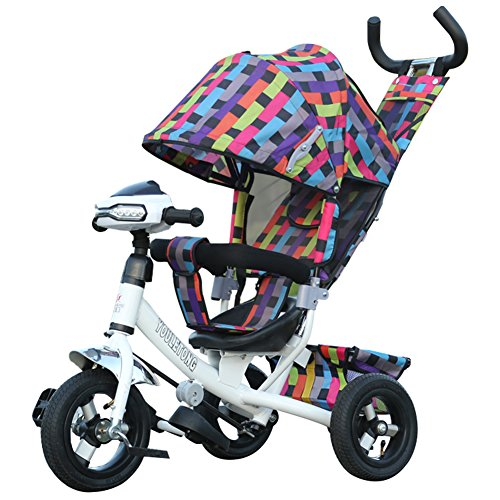 OLizee-Premium-quality-Baby-Kids-3-Wheels-Stroller-Jogger-Pushchair-Tricycle