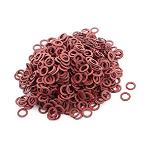 1600pcs M8 Insulating Fiber Washer Spacer 8mmx12mmx1mm for Motherboard