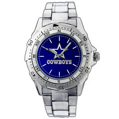 EPSP306 Dallas Cowboys Logo Stainless Steel Wrist Watch at Amazon.com