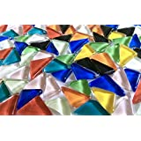 Sai Mosaic Art Triangular Multicolour Glass Mosaics 200 Gms