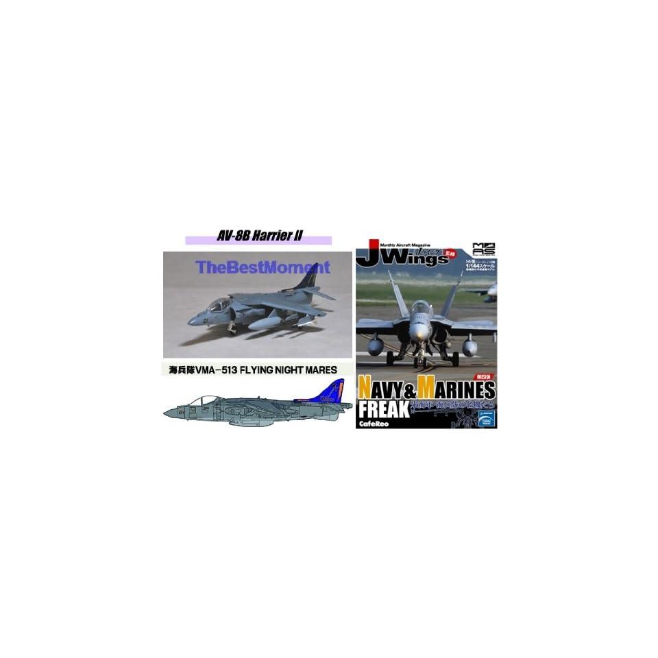 JWings 4 AV-8B Harrier II VMA-513 FLYING NIGHTMARES Fighter Plane 1:144 JW4/_11