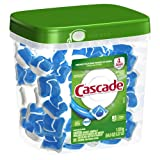 Cascade ActionPacs Dishwasher Detergent, Fresh Scent, 85-Count