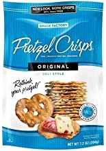 Snack Factory Pretzel Crisps Original Deli Style 72oz Pouch Pack of 4 by Snack Factory Foods