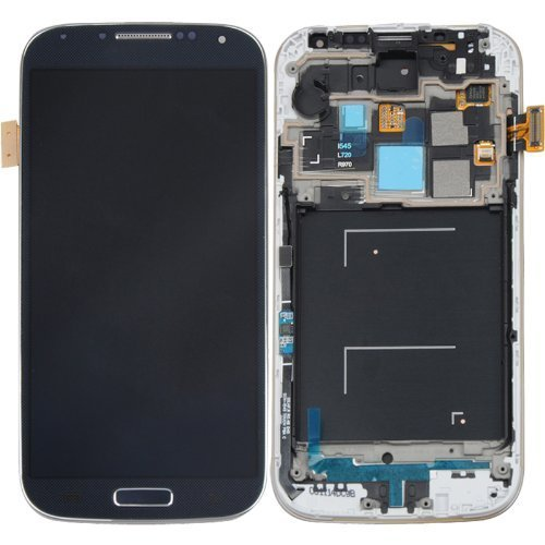 Original Samsung Galaxy S4 Iv I9505 Lcd Display & Touch Screen Digitizer Assembly(With Frame) Compatible With Following Gsm Models Only - I9505 - At&T I337 - Tmobile M919 (Black)