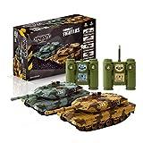 Ninco Combat Fighters. Pack 2 tanques radiocontrol con sistema de batalla por infrarrojos.