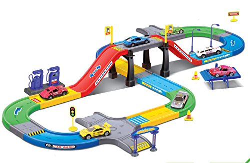 My First Speed Racing Assembly Playset - Includes …