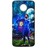Mott2 Back Case For Motorola Moto G5 Plus | Motorola Moto G5 PlusBack Cover | Motorola Moto G5 Plus Back Case - Printed Designer Hard Plastic Case - Lionel Messi Theme