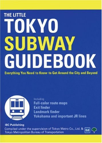 The little Tokyo subway guidebook