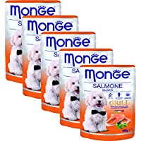 Monge Grill – Chunks With Chicken & Salmon (Pack Of 5)