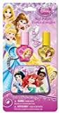 Disney Princess 2 Nail Polish, .11 oz.,  with Keychain Pouch,