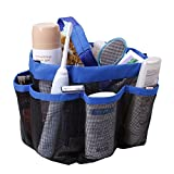 TFY Mesh Shower Caddy Storage & Organizer with 7 Large Side Pockets - Bathing, Toiletry and Bathroom Accessories