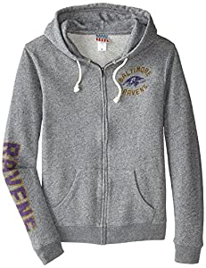 NFL Women's Full Zip Sunday Hoodie with Sleeve Name from Amazon.com, LLC *** KEEP PORules ACTIVE ***
