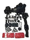 GoPro アクセサリーキット for GoPro HERO4,3+,3,2 and HERO Cameras (ビギナーからアクティブユーザーまでこれ1つで完結)   並行輸入品