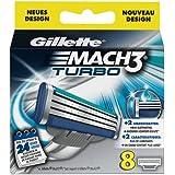 Gillette Mach3 Turbo Blades (8 pcs.)