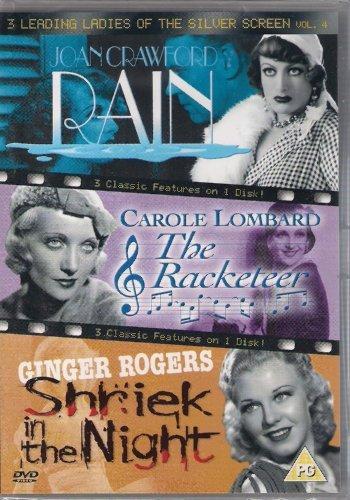 Rain (1932) / The Racketeer (1929) / A Shriek in the Night (1933)[DVD] by Joan Crawford