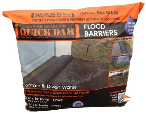 Images for Quick Dam QD610-1 Flood Barrier, 6-Inch x 10-Feet, 1-Pack