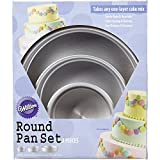 Wilton Perfect Performance Round Cake Pan Set, 2105-0472