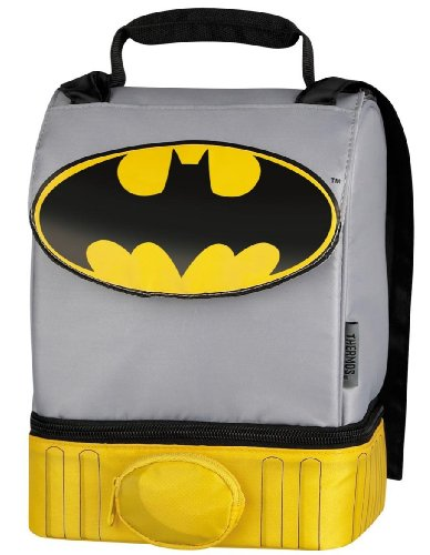 Batman Cape Lunch Box Bag Dual Compartment by Thermos Company at Gotham City Store