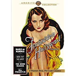 Forbidden Hollywood Collection: Volume Five (Hard to Handle / Ladies They Talk About / The Mind Reader / Miss Pinkerton)