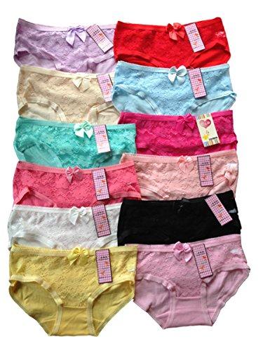 Jugendlich Mädchen Schriftsatz. Jedes Satz Wille enthalten Sie a Vielzahl von Farben. 100% CottonPacks Dose enthalten Sie mehr als 1 von selben Farbe. Frei Größe, Material ist sehr strechey und Wille Sitz zwischen 12-16 Jahre. Modell dargestellt ist ...