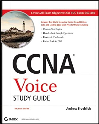 CCNA Voice Study Guide: Exam 640-460 written by Andrew Froehlich