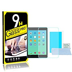 Xiaomi Mi Pad Tablet - Tempered Glass Screen Protector With 9H Hardness and Easy Bubble-Free Installation by Accessories Collection