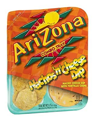 AriZona Arizona Combo Tray Nachos n Cheese Dip 4.75 OZ (Pack of 24)