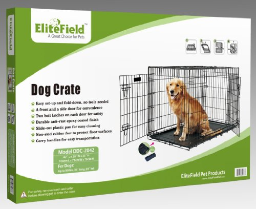 Dog crates used for Job lot dog crate