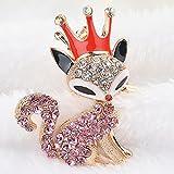 porte clé chaine, femme de belle porte clé ,femmes / lidies pierre fox voiture chaîne porte - clés accessoires roman pour filles dons sac charmes Rose...