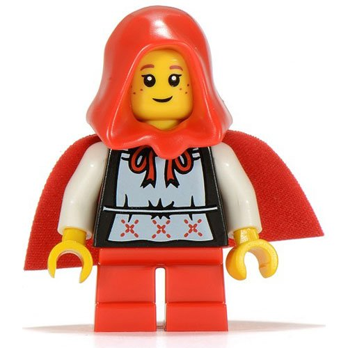 LEGO-Minifigure-Collection-Series-7-LOOSE-Mini-Figure-Grandma-Visitor