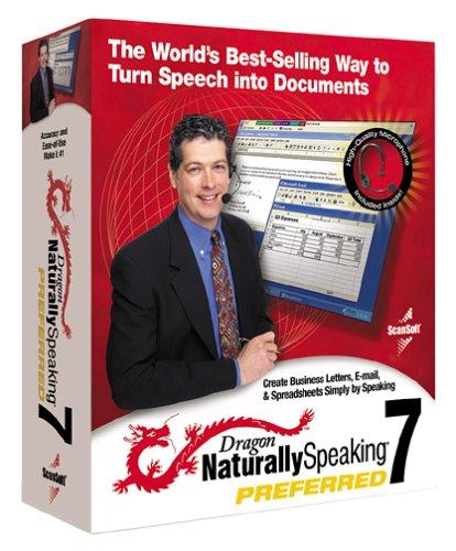 Dragon Naturally Speaking 7 Preferred