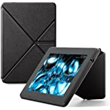 Amazon Kindle Fire HD Standing Leather Origami Case (3rd Generation - 2013 release), Black