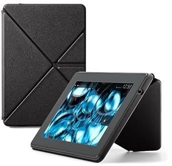 Amazon Origami Lederhülle mit Standfunktion für Kindle Fire HD 7 (nur geeignet für Kindle Fire HD (3. Generation)), Schwarz