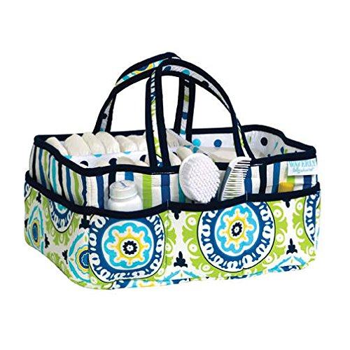 Waverly Solar Flair Diaper Caddy front-341009