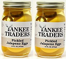 Yankee Traders Brand Pickled Jalapeno Eggs - 2 Pack