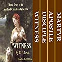 Seeds of Christianity 4-Book Boxed Set: Witness, Disciple, Apostle, and Martyr (       UNABRIDGED) by E. G. Lewis Narrated by Ruth Elsbree