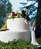 &#8220;Hooked on Love&#8221; Groom Figurine and &#8220;Bride Reaching For Her Star&#8221; Figurine