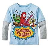 Yo Gabba Gabba Long Sleeve Shirt Tee Toddler Boy 4T