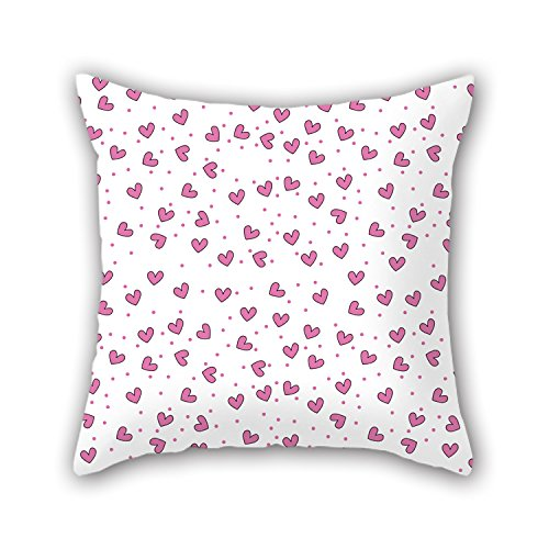 PILLO Love Throw Cushion Covers 16 X 16 Inches / 40 By 40 Cm For Home Theater,boy Friend,festival,father,gf,her With Double Sides (Elastic Netting For Meat compare prices)