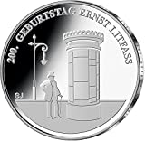 "20 Euro moneda conmemorativa ""200o cumpleaños de Ernst Litfaß"" (Jäger: 608) Prueba Numismática, Plata (Ag 925)"