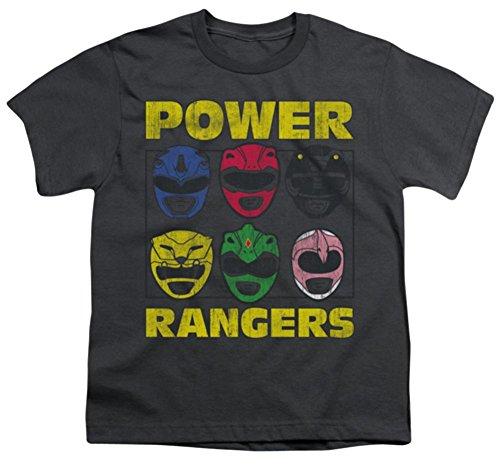 Mighty Morphin: Power Rangers - Ranger Heads Youth T-Shirt