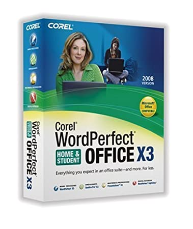 WordPerfect Office X3 Home and Student Edition