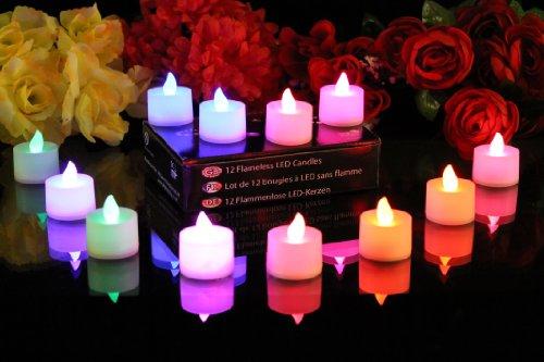 Lot de 12 bougies