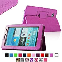 Fintie Slim Fit Folio Case Cover for Samsung Galaxy Tab 7.0 Plus / Samsung Galaxy Tab 2 7.0 Tablet - Violet from FINTIE