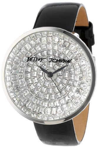 Betsey Johnson Women's BJ00227-01 Analog Pave Set Dial Watch