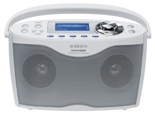 Robert Stream 205 Stereo DAB/FM/WiFi Internet Radio - White Black Friday & Cyber Monday 2014